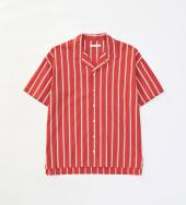 S/S STRIPE SHIRTS *レッド*