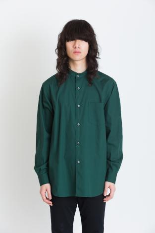 BAND COLLAR SHIRTS *グリーン*