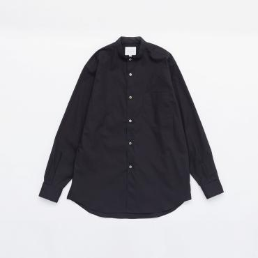 BAND COLLAR SHIRTS *ブラック*