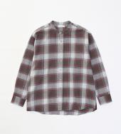 BIG CHECK SHIRTS *ワイン*