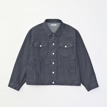 BIG DENIM JACKET *ブルー*