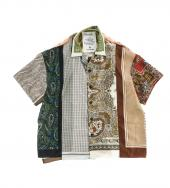 VINTAGE SCARF SHORT SLEEVE SHIRTS