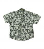 POLY ALOHA SHORT SLEEVE SHIRTS *ライム*