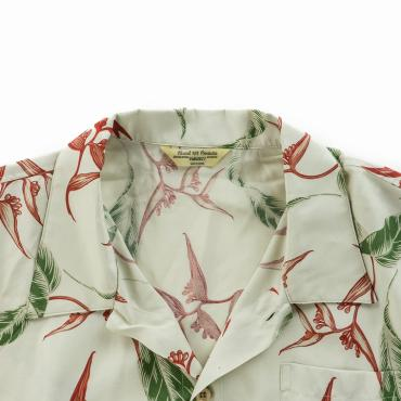 RAYON ALOHA SHORT SLEEVE SHIRTS *ホワイト*