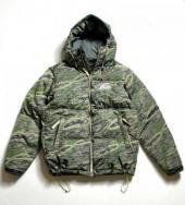 ×NANGA 3LAYER HOODED DOWN JACKET *G.CAMO*