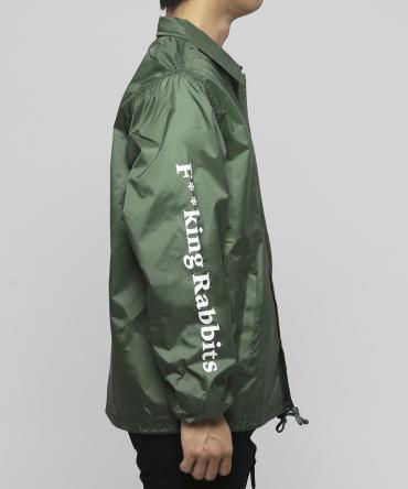 Spy Nylon Coach Jacket[FRJ037] *グリーン*