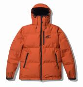BCxNANGA 3LAYER HOODED DOWN JACKET *オレンジ*